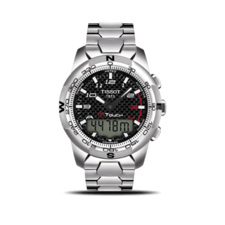 Tissot Herrenuhr T-Touch II Titanium Gent T047.420.44.207.00