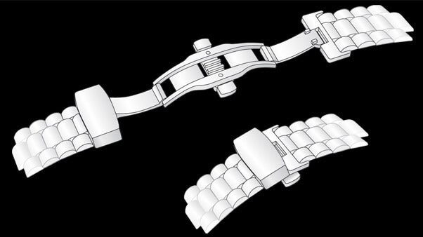 Typen von Uhrenarmband-Schließen   Brogle-Ratgeber für Uhren