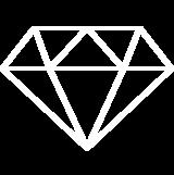 mit 0,055 Karat Diamanten besetzt