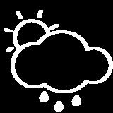 Luftdruckanzeige zur Wettervorhersage
