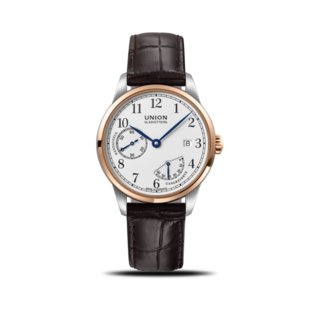Union Glashütte Herrenuhr 1893 Johannes Dürrstein 41mm D906.456.26.017.00