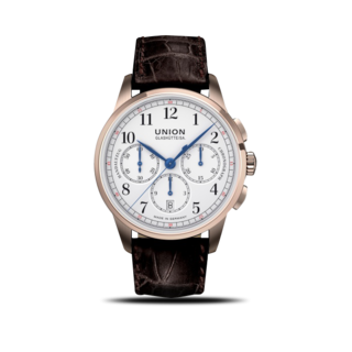 Union Glashütte Herrenuhr 1893 Johannes Dürrstein Edition Chronograph, Limited Edition D903.459.76.017.00