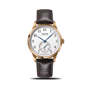 Union Glashütte Herrenuhr 1893 Kleine Sekunde 41mm Gold D903.428.76.013.00