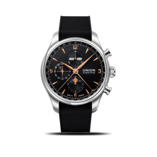 Union Glashütte Herrenuhr Belisar Automatik Chronograph 44mm D009.425.17.057.01