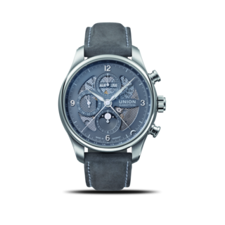 Union Glashütte Herrenuhr Belisar Chronograph Mondphase D009.425.16.087.00