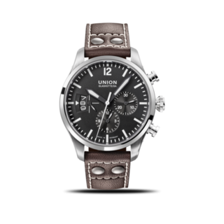 Union Glashütte Herrenuhr Belisar Pilot Chronograph D009.627.16.057.00