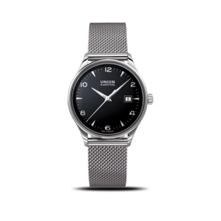 Union Glashütte Armbanduhr Noramis Datum 40mm D012.407.11.057.00