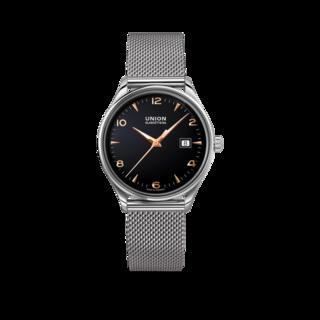 Union Glashütte Armbanduhr Noramis Datum 40mm D012.407.11.057.01
