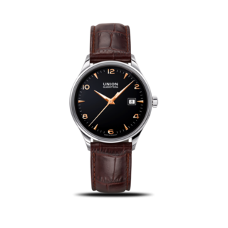 Union Glashütte Armbanduhr Noramis Datum 40mm D012.407.16.057.01