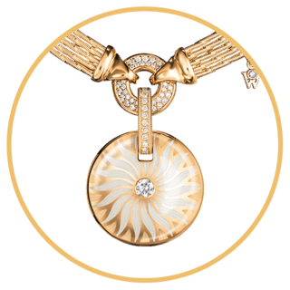 Wellendorff Amulette