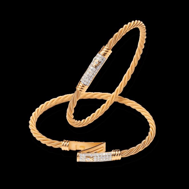Armband Wellendorff Comtesse Sternennacht aus 750 Gelbgold mit mehreren Brillanten (0,45 Karat) bei Brogle