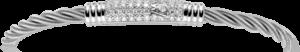 Armband Wellendorff Comtesse Sternennacht aus 750 Weißgold mit mehreren Brillanten (0,45 Karat)