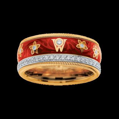 Wellendorff Ring Kirsche 6.6802_GG