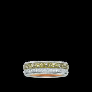 Wellendorff Ring Olive 6.6810_WG