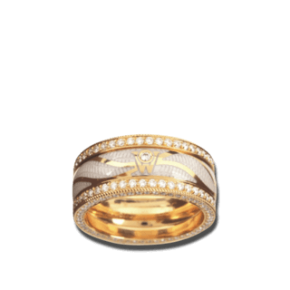 Wellendorff Ring Brillantflügel 6.7059_GG