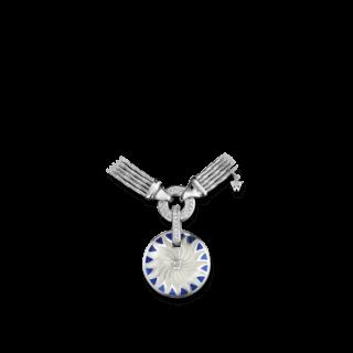 Wellendorff Amulett Bewahre mein Glück Onyx-Saphir 9.9596_WG