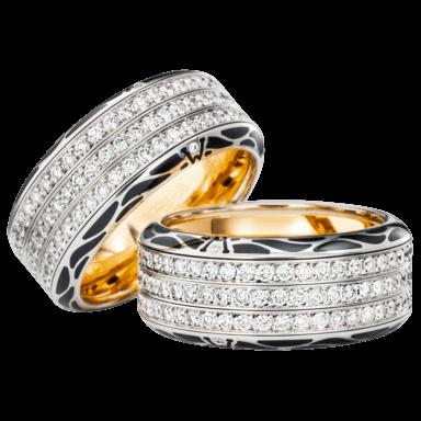 Wellendorff Ring Edel Onyx 6.7136_WG
