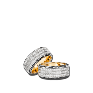 Wellendorff Ring Edel-Onyx 6.7136_WG