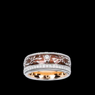 Wellendorff Ring Schokoengel 6.7028_WG