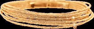 Armband Wellendorff Sonnenglanz klein aus 750 Gelbgold mit 1 Brillant (0,017 Karat)