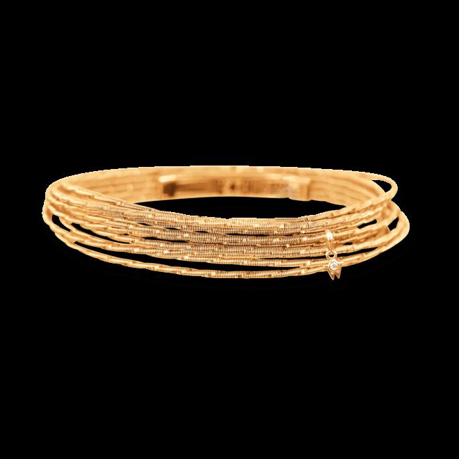 Armband Wellendorff Sonnenglanz klein aus 750 Gelbgold mit 1 Brillant (0,017 Karat) bei Brogle