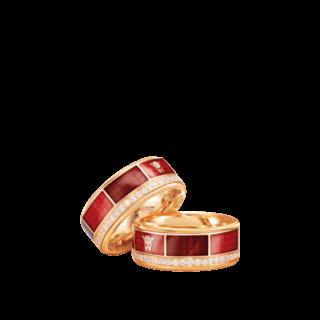 Wellendorff Ring Rote Lagune 6.7204_GG