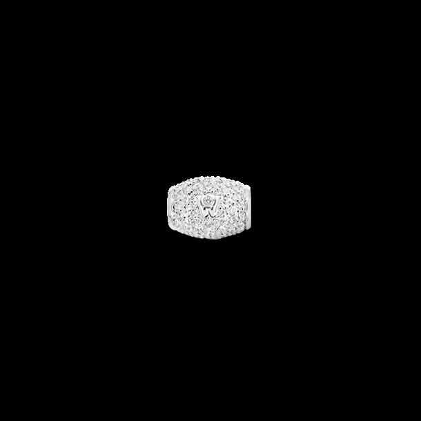 Ronde Wellendorff Sternennacht zarte aus 750 Weißgold mit mehreren Brillanten (1,071 Karat)
