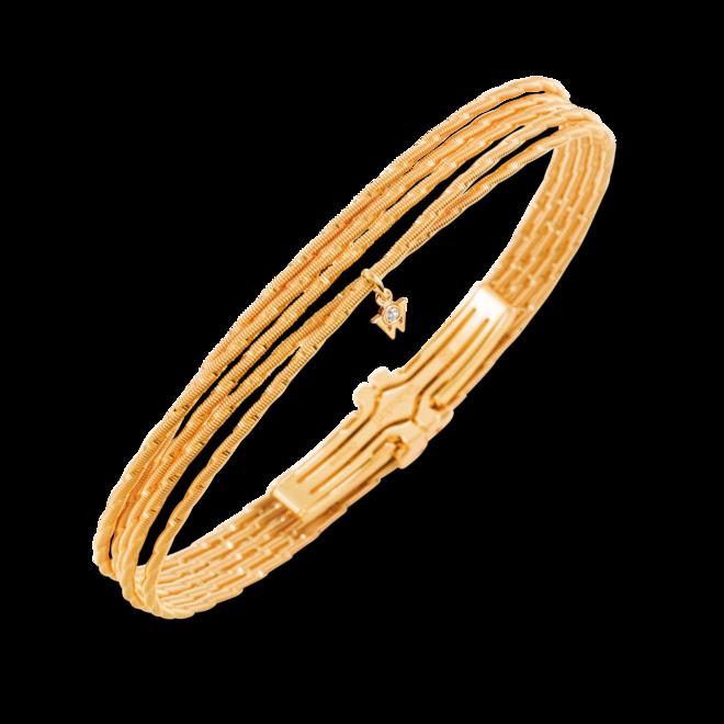 Armband Wellendorff Sonnenglanz Quintett aus 750 Gelbgold mit 1 Brillant (0,039 Karat) bei Brogle