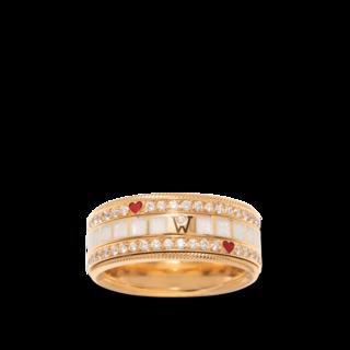 Wellendorff Ring MITEINANDER. 6.7384_GG