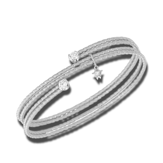 Wellendorff Armband Umarme Mich. Solitär 3.4781_WG-M