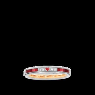 Wellendorff Ring Unser Glück. Rosenrot 6.7260_WG