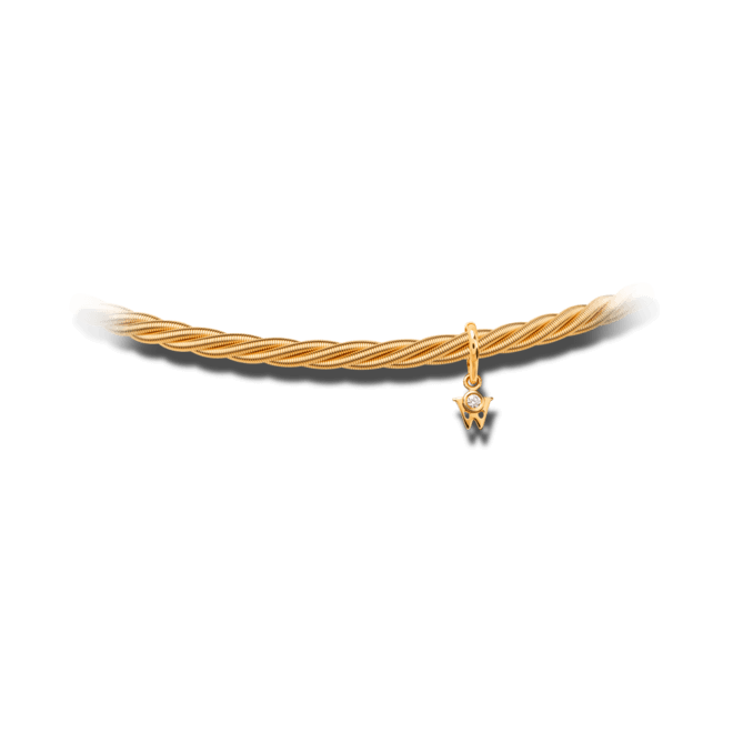 Armband Wellendorff Comtesse aus 750 Gelbgold mit 1 Brillant (0,017 Karat)