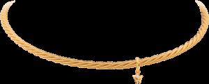 Collier Wellendorff Comtesse aus 750 Gelbgold mit 1 Brillant (0,017 Karat)