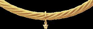 Collier Wellendorff Galaxis aus 750 Gelbgold mit 1 Brillant (0,017 Karat)