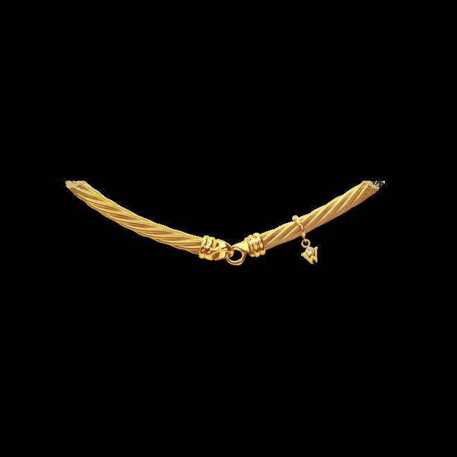 Collier Wellendorff Prinzesse aus 750 Gelbgold mit 1 Brillant (0,017 Karat) bei Brogle