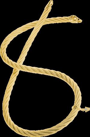Collier Wellendorff Prinzesse aus 750 Gelbgold mit 1 Brillant (0,017 Karat)