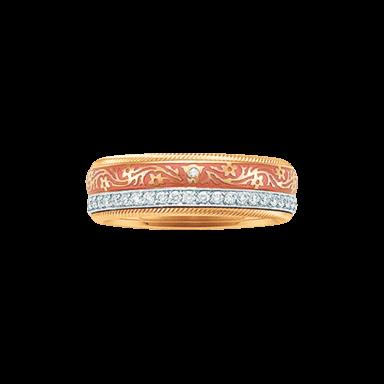 Wellendorff Ring Aprikose 6.6849_GG