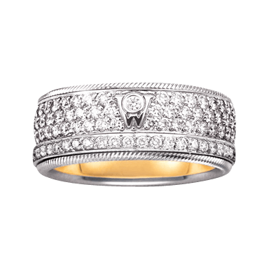 Wellendorff Ring Brillantkuss 6.6851_WG
