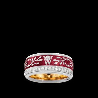 Wellendorff Ring Roter Mohn 6.6847_WG