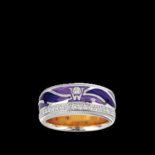 Wellendorff Ring Purpurflügel 6.7073_WG