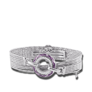 Wellendorff Armband mit Anhänger Purpurzauber 3.4711_WG