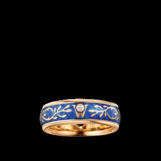 Wellendorff Ring Vergissmeinnicht 6.6670_GG