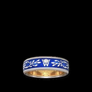 Wellendorff Ring Vergissmeinnicht 6.6670_WG