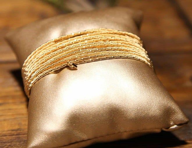 Armband Wellendorff Sonnenglanz aus 750 Gelbgold mit 1 Brillant (0,017 Karat) bei Brogle