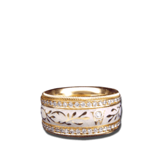 Wellendorff Ring Champagner 6.6945_GG