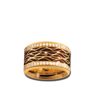 Wellendorff Ring Espresso 6.6950_GG