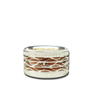Wellendorff Ring Espresso 6.6950_WG