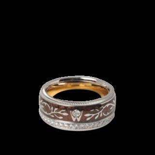 Wellendorff Ring Karamell 6.6943_WG