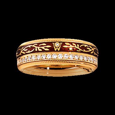 Wellendorff Ring Mokka 6.6947_GG