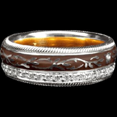 Wellendorff Ring Mokka 6.6947_WG